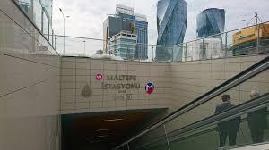 Метро Станция  Малтепе