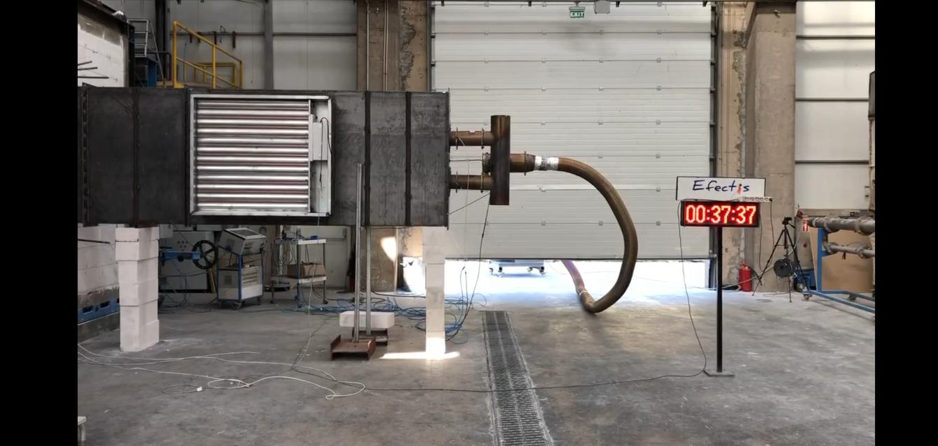 Aironn A.Ş. Türkiye'nin 1000 Pascal Basınç Karşısında Sızdırmazlığı Kanıtlanan İLK YERLİ Çok Kanatlı Duman Damperi Üretimine Ait Video Yayında