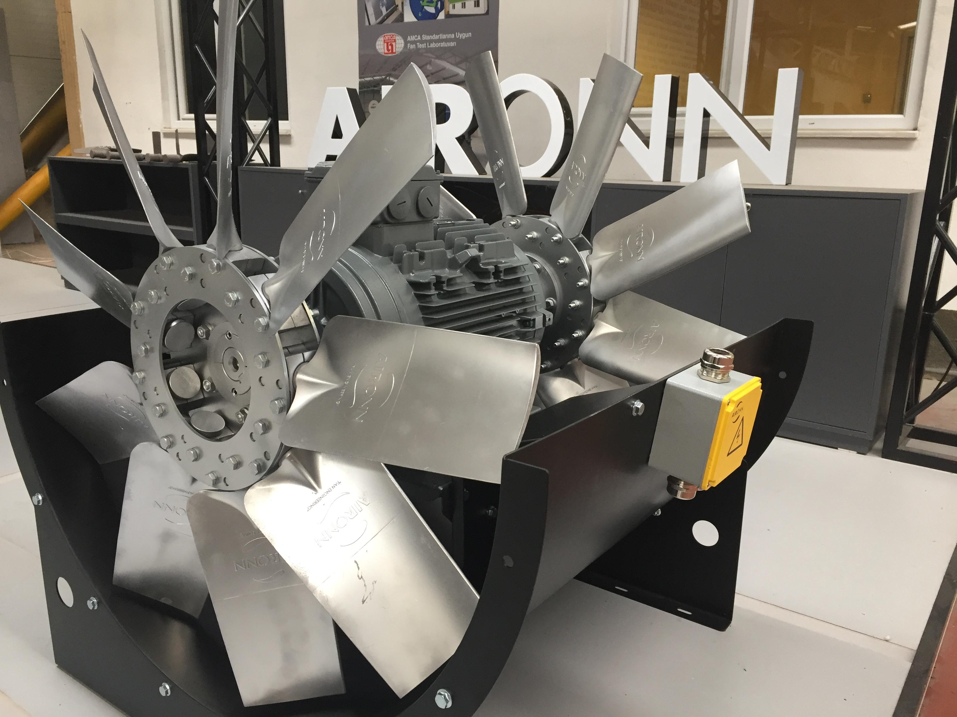 Aironn, Single Motor, Single Shaft with High Pressures Air