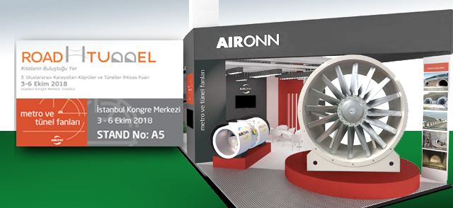 Aironn to exhibit its innovations in tunnel ventilation at ROAD & TUNNEL
