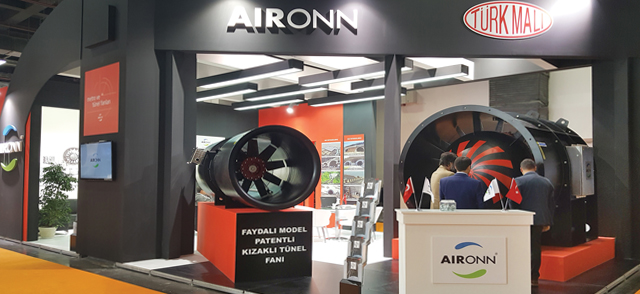 Aironn'un, Sponsoru Olduğu Road & Tunnel Fuarında Sergilediği İnovatif Ürünleri Yoğun İlgi Gördü