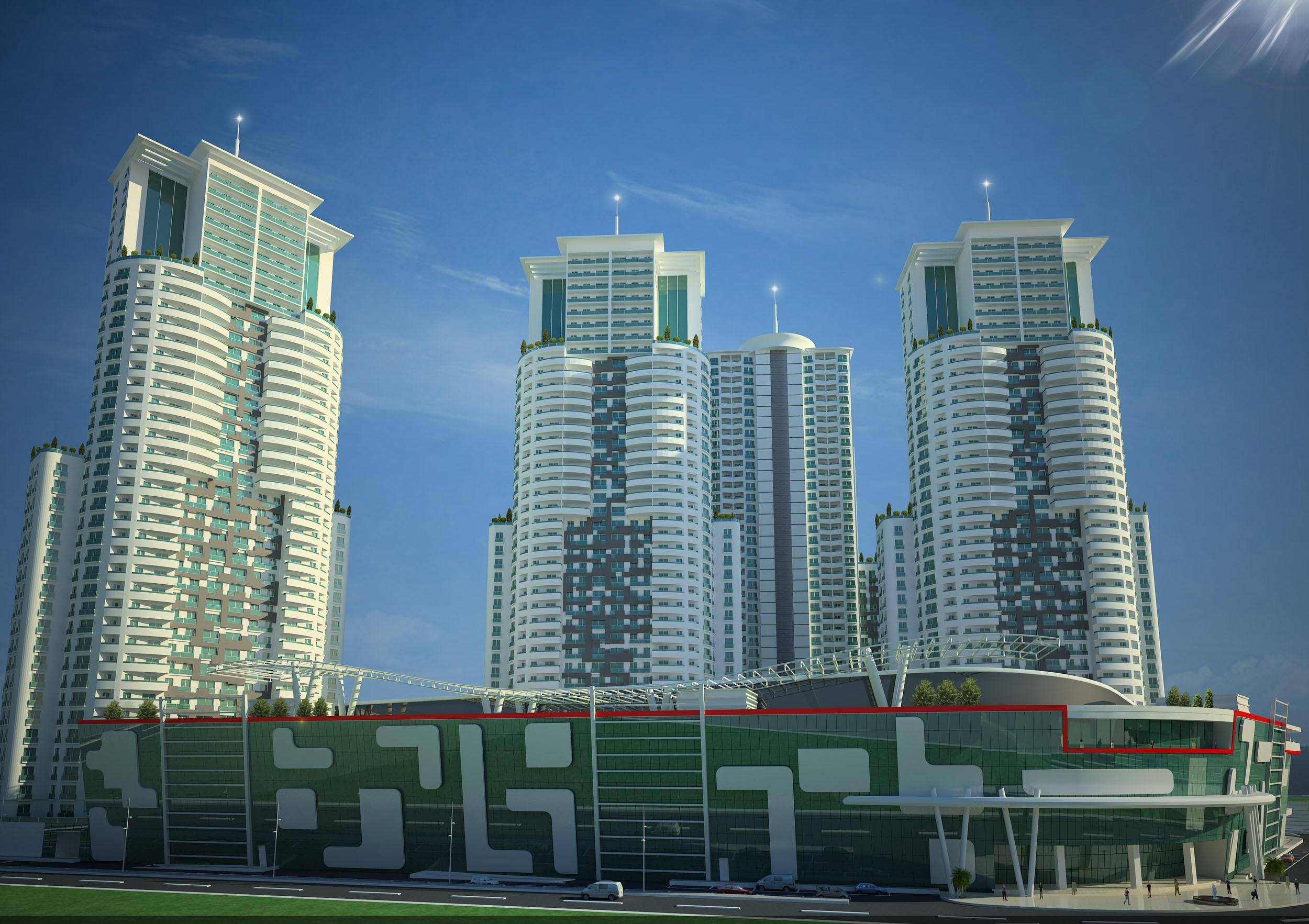 Sky City, the highest project in the Balkans, preferred Aironn!