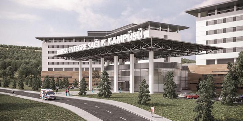 Bursa'nın Dev Entegre Sağlık Kampüsü Projesi'nde de Aironn Tercih Edildi