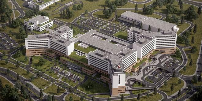 Cumhurbaşkanı Recep Tayyip Erdoğan'ın önemle üzerinde durduğu şehir hastanelerinden biri olan Elazığ Şehir Hastanesi de Aironn'a güvendi