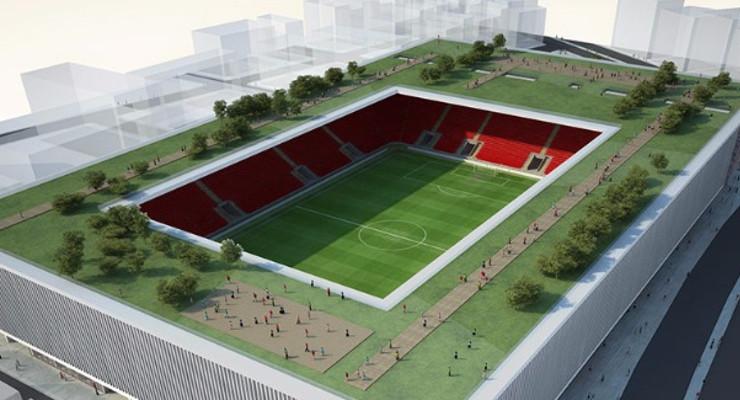 İzmir'in Yeni Sembolü Olacak Göztepe Stadyumu'nda Seçim Aironn Oldu.