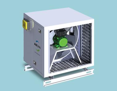 Compact Stair Pressurization Fan Series Ready for Production