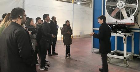 Proje Firmalarından Aironn Fabrikasına Ziyaret