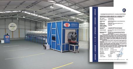 Türkiye'de TÜV-SÜD Onaylı İlk ve Tek Fan Test Laboratuvarı AIRONN'da…