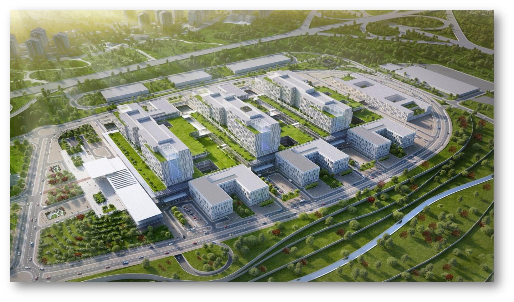 Türkiye'nin Mega Sağlık Projelerinden İstanbul İkitelli Şehir Hastanesi'nde Aironn'un 1.008 adet Fanı Hizmet Verecek