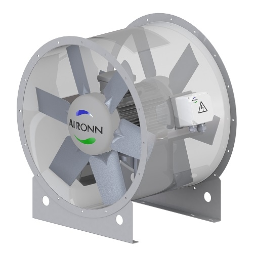 Twin Spindle Axial Type Fan Series