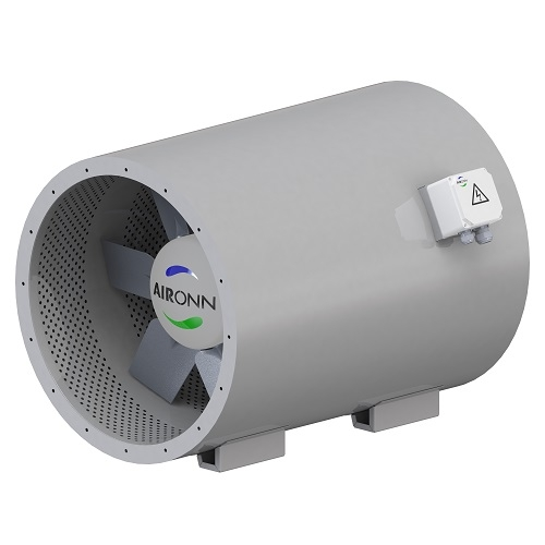 Axial Type Silencer Body Fresh Air Fan