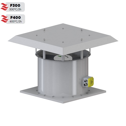 Roof Type HF Axial Smoke Exhaust Fan Series