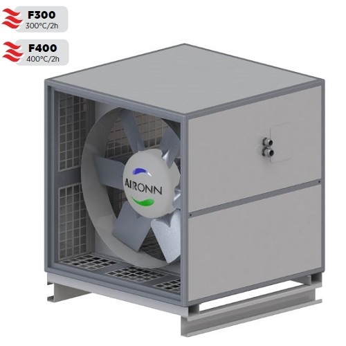 Cell Type Axial Smoke Exhaust Fan Series