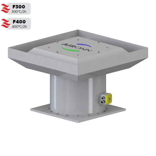 Roof Type VF Axial Smoke Exhaust Fan Series